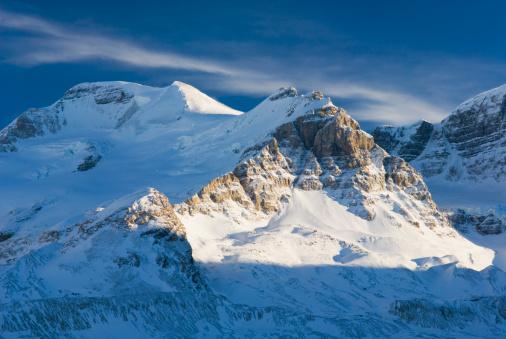 アサバスカ山「Mount Athabasca, Jasper National Park」:スマホ壁紙(7)