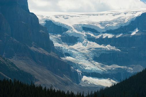 アサバスカ山「Mount Athabasca」:スマホ壁紙(12)