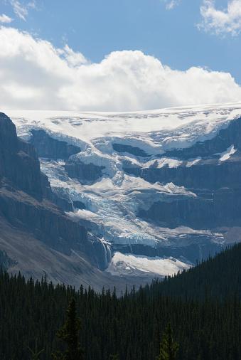アサバスカ山「Mount Athabasca」:スマホ壁紙(9)