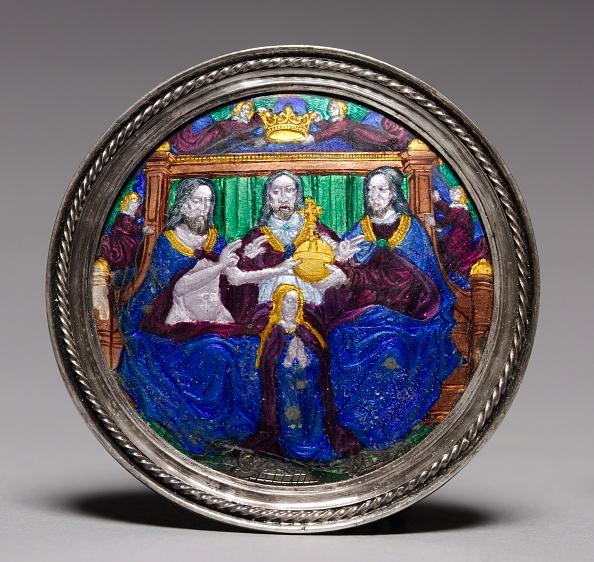 Enamel「Medallion: Coronation Of The Virgin」:写真・画像(15)[壁紙.com]