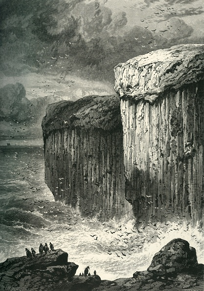 Volcanic Landscape「Fingals Cave」:写真・画像(7)[壁紙.com]