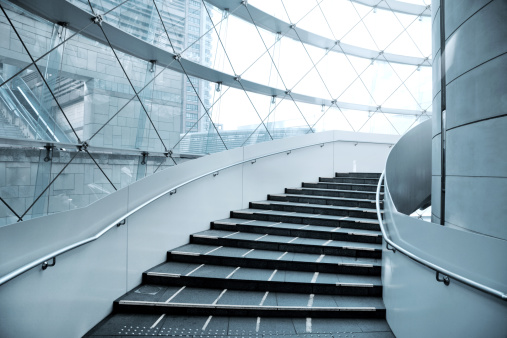 Corporate Business「Staircase」:スマホ壁紙(8)