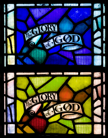 Stained Glass「Stained glass window to the glory of god」:スマホ壁紙(10)