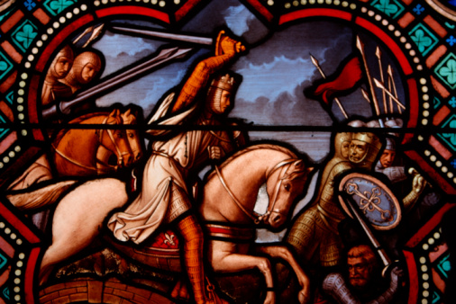 Battle「Stained glass window warriors」:スマホ壁紙(7)