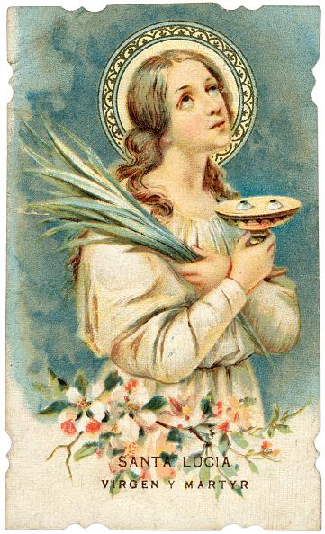 Fototeca Storica Nazionale「SPAIN - SANTA LUCIA (LAS PALMAS) 1890: Santa Lucia Virgen Y Martyr, devotional image」:写真・画像(15)[壁紙.com]
