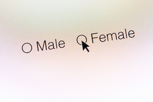 サイバー「Female gender selection web icons」:スマホ壁紙(5)