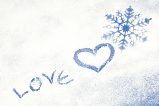 雪の結晶「冬小麦」:スマホ壁紙(16)