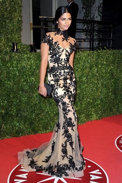 Cap Sleeve「2011 Vanity Fair Oscar Party Hosted By Graydon Carter - Arrivals」:写真・画像(18)[壁紙.com]