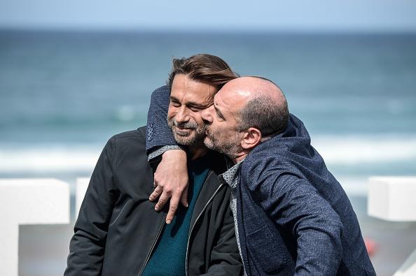 Two People「'Operacion Concha' Photocall - 65th San Sebastian Film Festival」:写真・画像(0)[壁紙.com]