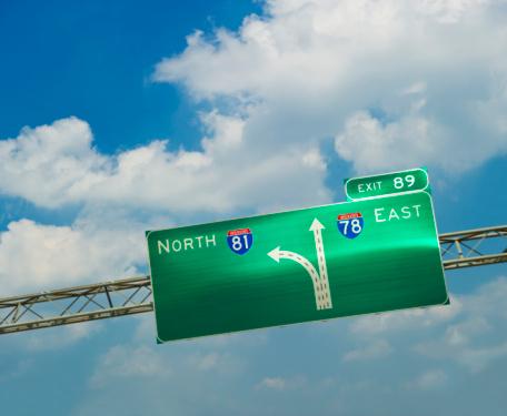 Pennsylvania「Interstate road sign」:スマホ壁紙(1)