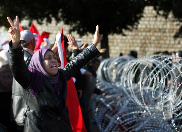 Tunisia「Demonstrations Continue In Tunisia As Calls Come For Dissolution Of Ruling Party」:写真・画像(3)[壁紙.com]