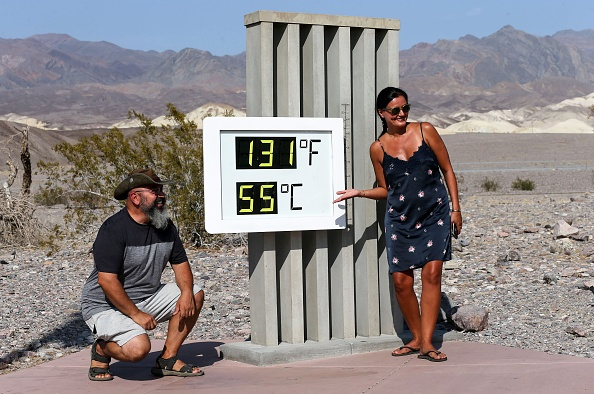 Thermometer「Death Valley Hits 130 Degrees, One Of The Highest Temperatures Recorded On Earth」:写真・画像(9)[壁紙.com]