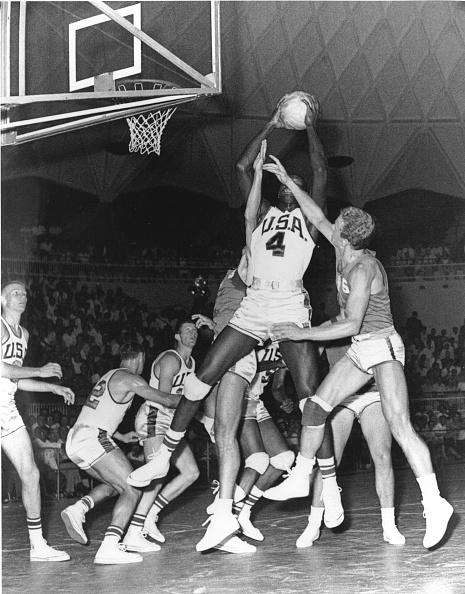 バスケットボール「1960 OLYMPICS」:写真・画像(6)[壁紙.com]