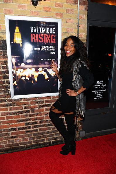 Sonja Sohn「Red Carpet Premiere of HBO Documentary Baltimore Rising」:写真・画像(1)[壁紙.com]