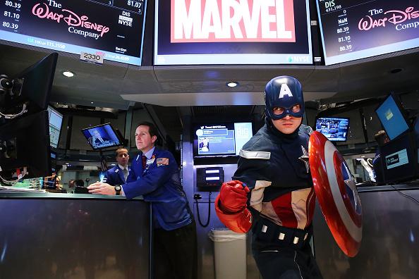 Captain America「Dow Jones Industrial Average Opens Sharply Higher」:写真・画像(1)[壁紙.com]