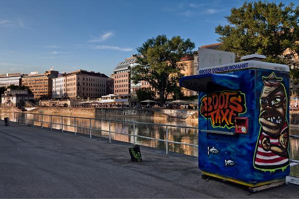 Graffiti「On The Danube Canal In Vienna」:写真・画像(9)[壁紙.com]