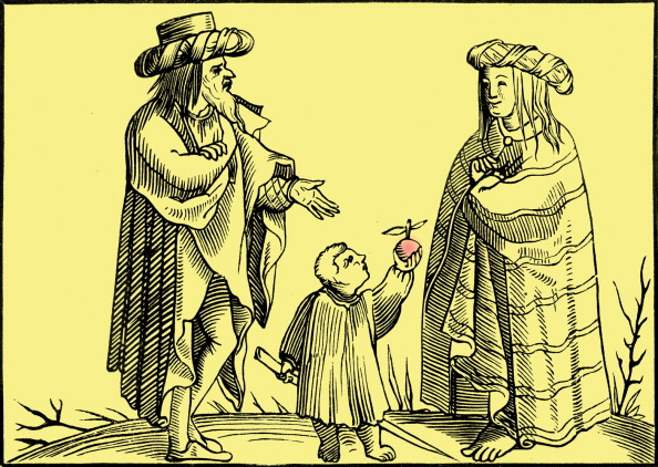 Woodcut「Gypsy family in the sixteenth century」:写真・画像(16)[壁紙.com]