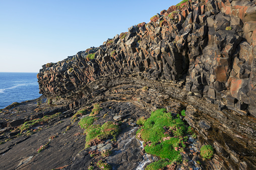 Basalt「Basalt rocks near Loop Head, Ireland」:スマホ壁紙(0)