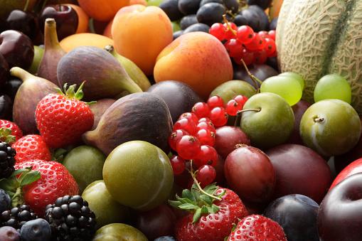 イチジク「フルーツの静止画: 夏のフルーツ コレクションの静物」:スマホ壁紙(9)