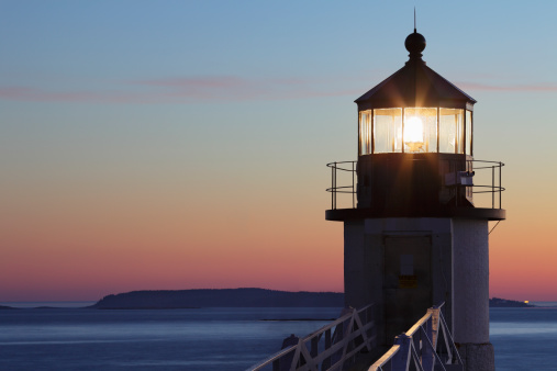 Beacon「Marshall Point Lighthouse in Port Clyde, Maine」:スマホ壁紙(16)