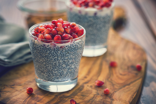 Seed「Chia Seed Pudding With Fresh Pomegranates」:スマホ壁紙(10)