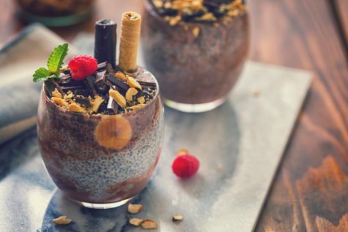 Almonds「チョコレートとバナナの嘉種子プディング」:スマホ壁紙(2)