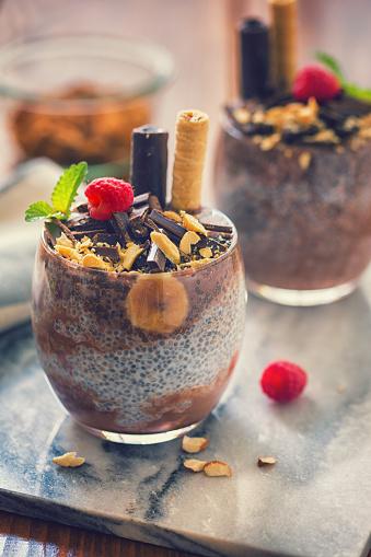 Almonds「チョコレートとバナナの嘉種子プディング」:スマホ壁紙(4)
