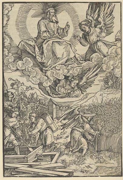 Agricultural Activity「The Harvest And The Wine-Press Of Blood Creator: Hans Sch�ufelein The Elder」:写真・画像(5)[壁紙.com]