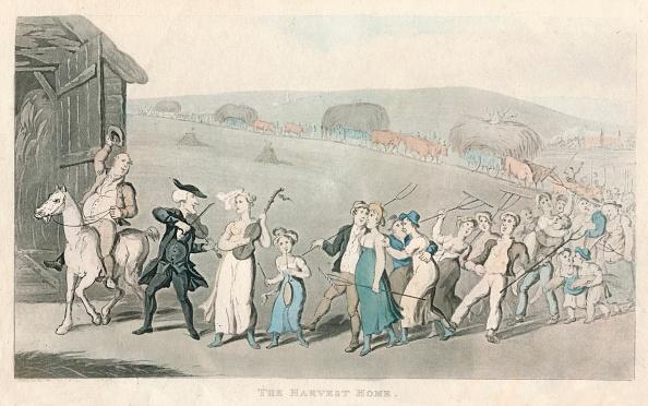 Land「'The Harvest Home', 1820」:写真・画像(4)[壁紙.com]