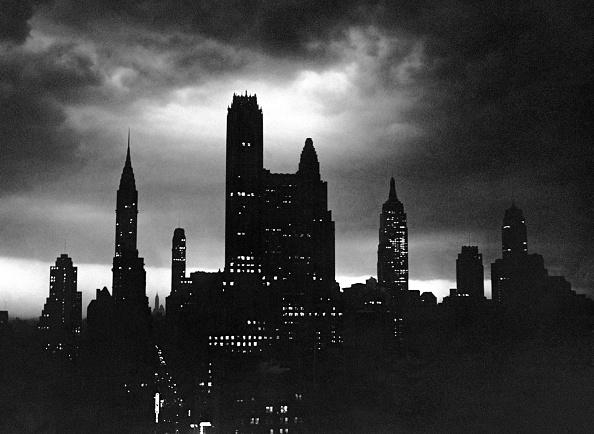 夜景「Night time view of city, NYC」:写真・画像(11)[壁紙.com]