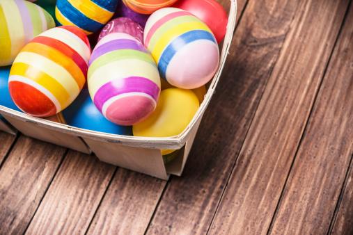 Easter Basket「basket of easter eggs」:スマホ壁紙(8)