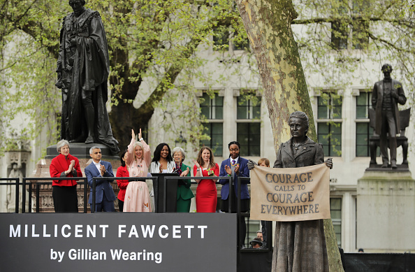 像「First Female Suffragist Millicent Fawcett Statue Unveiled In Parliament Square」:写真・画像(17)[壁紙.com]