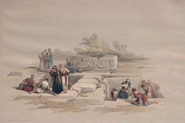 Chromolithograph「Fountain At Cana」:写真・画像(15)[壁紙.com]