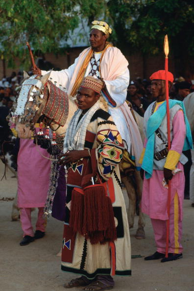 Traditional Clothing「Chief and Attendants, Durbar, Nigeria」:写真・画像(15)[壁紙.com]
