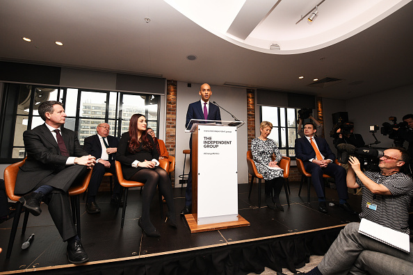 Group Of People「Labour MPs Hold Press Conference Amid Rumours Of A Split」:写真・画像(18)[壁紙.com]