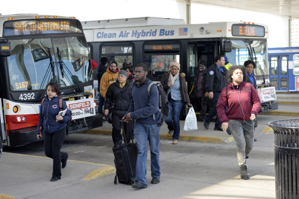 オヘア国際空港「32 Injured As Commuter Train Derails At Chicago's O'Hare Airport」:写真・画像(17)[壁紙.com]