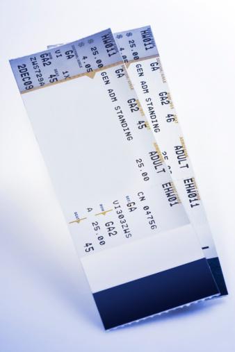 Ticket「Concert tickets」:スマホ壁紙(9)