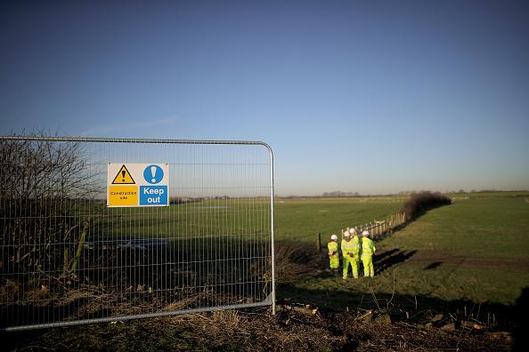 Shale「Construction Begins At Lancashire Fracking Site」:写真・画像(1)[壁紙.com]