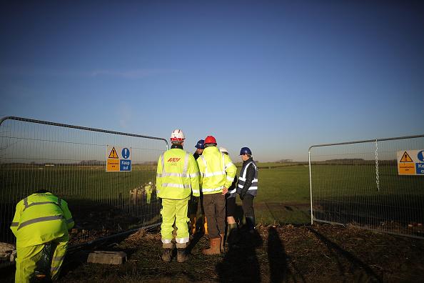 Shale「Construction Begins At Lancashire Fracking Site」:写真・画像(0)[壁紙.com]