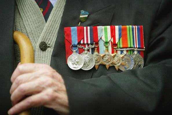 Veteran「WWII Veterans Hold Service Ahead Of DDay Anniversary」:写真・画像(6)[壁紙.com]