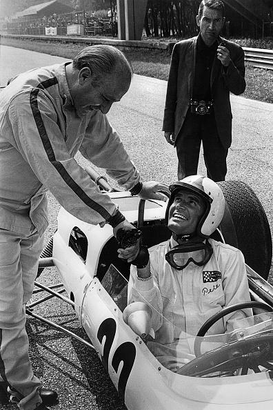 Motorsport「James Garner, Juan Manuel Fangio, Grand Prix Of Italy」:写真・画像(6)[壁紙.com]