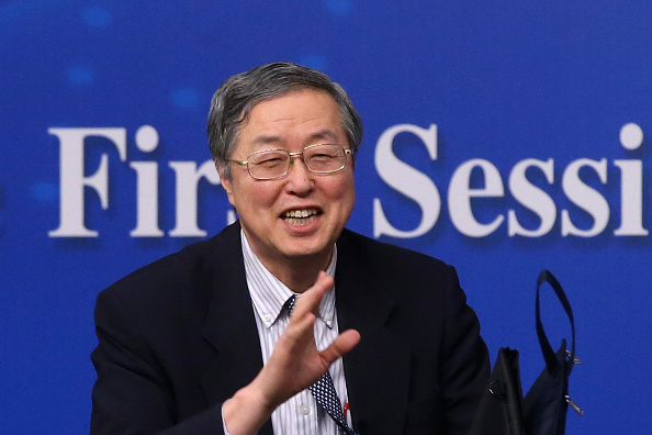 Corporate Business「Chinese Central Bank Governor Zhou Xiaochuan Press Conference」:写真・画像(9)[壁紙.com]