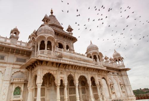 Jodhpur「Jaswant Thada」:スマホ壁紙(5)