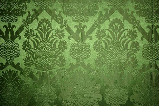 Old vintage green wallpaper texture:スマホ壁紙(壁紙.com)