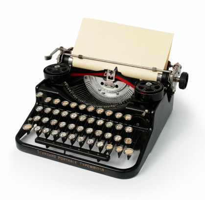 1940-1949「Old Vintage Typewriter」:スマホ壁紙(18)