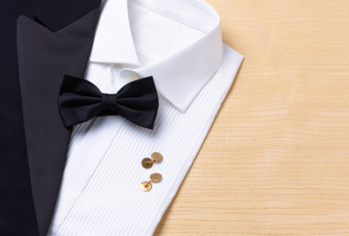 Formalwear「Dinner Jacket, shirt and black tie」:スマホ壁紙(18)