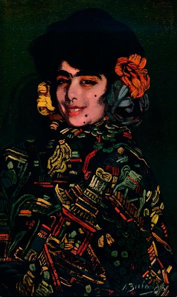 Black Background「Spanish Girl, 1907, (1932)」:写真・画像(9)[壁紙.com]