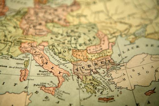 Map「ビンテージのマップ」:スマホ壁紙(12)
