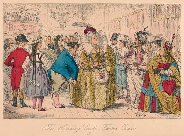 Showing Off「'The Handley Cross Fancy Ball', 1854」:写真・画像(9)[壁紙.com]