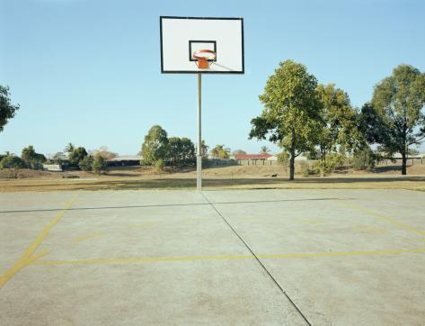 Basket「Empty basketball court」:スマホ壁紙(18)